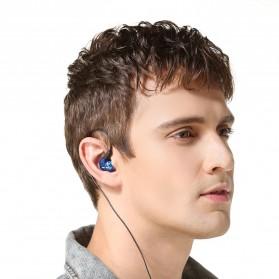 W6 PRO HiFi Sport Earphones Detachable with Mic - Black - 5