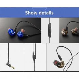 W6 PRO HiFi Sport Earphones Detachable with Mic - Black - 7