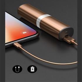 Yulubu TWS Sport True Wireless Bluetooth Earphone Headset with Charging Case - S2 - Gray - 2