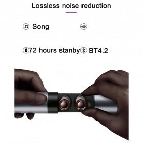 Yulubu TWS Sport True Wireless Bluetooth Earphone Headset with Charging Case - S2 - Gray - 6