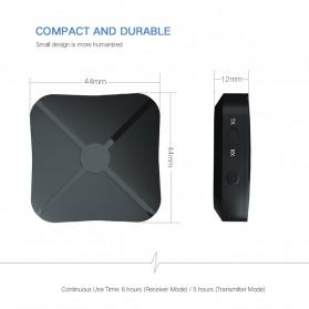 VAORLO 2 in 1 Audio Bluetooth Transmitter & Receiver 3.5mm - KN319 - Black - 2