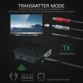 VAORLO 2 in 1 Audio Bluetooth Transmitter & Receiver 3.5mm - KN319 - Black - 7