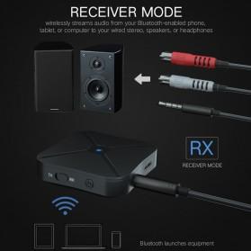 VAORLO 2 in 1 Audio Bluetooth Transmitter & Receiver 3.5mm - KN319 - Black - 8