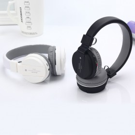 TransitionHD Wireless Headphone Bluetooth 5.0 Radio TF Function with Mic - SH12 - Black