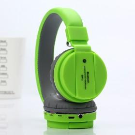 TransitionHD Wireless Headphone Bluetooth 5.0 Radio TF Function with Mic - SH12 - Black - 2