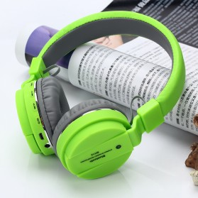 TransitionHD Wireless Headphone Bluetooth 5.0 Radio TF Function with Mic - SH12 - Black - 3