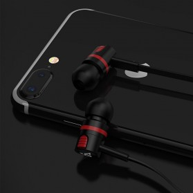 PTM Earphone Headset Extraordinary Sound Super Bass - T2 - Black - 10