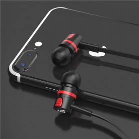 PTM Earphone Headset Extraordinary Sound Super Bass - T2 - Black - 5