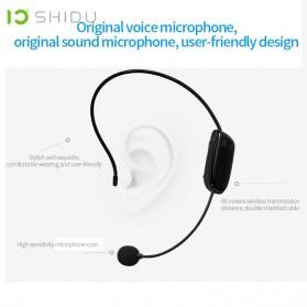 SHIDU Megaphone Mikrofon Penguat Suara Audio Tourguide Speaker 10W - SD-S615 - Black - 4