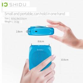 SHIDU Megaphone Mikrofon Penguat Suara Audio Tourguide Speaker 10W - SD-S615 - Black - 5