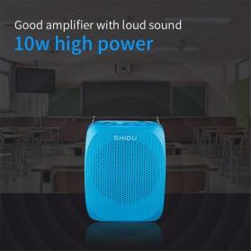 SHIDU Megaphone Mikrofon Penguat Suara Audio Tourguide Speaker 10W - SD-S615 - Black - 7