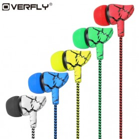 LAPU Earphone Headset Earbuds Volume Control + Microphone - LP-T9 - Green - 2