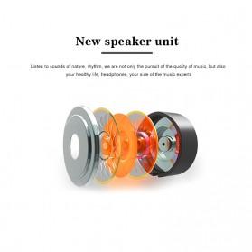 LAPU Earphone Headset Earbuds Volume Control + Microphone - LP-T9 - Green - 3
