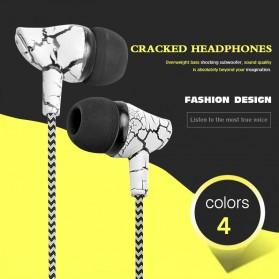 LAPU Earphone Headset Earbuds Volume Control + Microphone - LP-T9 - Green - 6