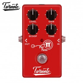 Twinote Pedal Efek Gitar Distorsi High Gain - AS-4 - Red