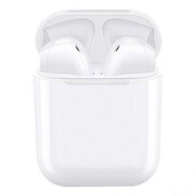 NAIKU TWS Airpods Earphone Bluetooth with Charging Case - i9S - White - 10