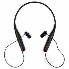 MIXIAO Wireless Stereo Headset Sport Neckband - HV735 - Black