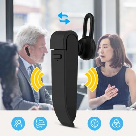 PEIKO Penerjemah Bahasa Bluetooth Headset Handsfree Language Translator - PKBT-10 - Black