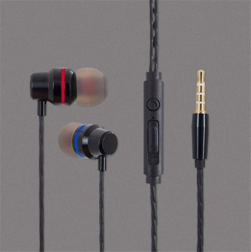 Briame Earphone Heavy Bass with Mic - BR43 - Black