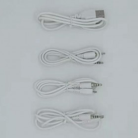 ZLIVE Audio USB External Soundcard Live Broadcast Microphone Headset - V12 - Black - 6