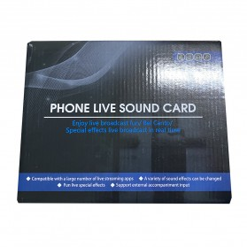 ZLIVE Audio USB External Soundcard Live Broadcast Microphone Headset - V12 - Black - 8
