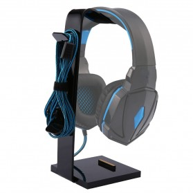 MOONBIFFY Universal Gaming Headphone Hanger - C098 - Black