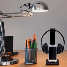 MOONBIFFY Universal Gaming Headphone Hanger - C098 - Black - 7