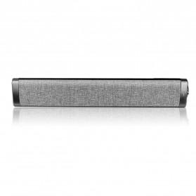 XGODY Soundbar Bluetooth Speaker Home Theater Deep Bass 10W with Remote - LP1811 - Gray - 2