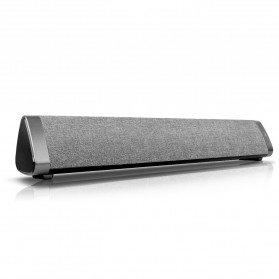 XGODY Soundbar Bluetooth Speaker Home Theater Deep Bass 10W with Remote - LP1811 - Gray - 3