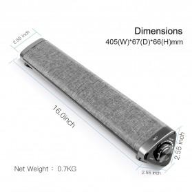 XGODY Soundbar Bluetooth Speaker Home Theater Deep Bass 10W with Remote - LP1811 - Gray - 4