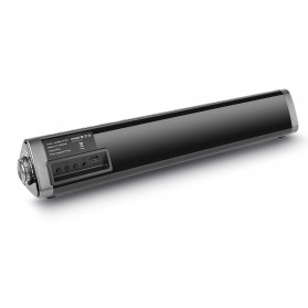 XGODY Soundbar Bluetooth Speaker Home Theater Deep Bass 10W with Remote - LP1811 - Gray - 7