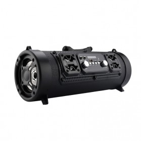YINEW Outdoor Portable Bluetooth Speaker Subwoofer with Mic - CH-M17 - Black