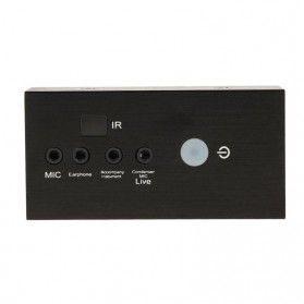 ALLOYSEED Audio USB External Soundcard Live Broadcast with Bluetooth Remote Control - i8 - Black - 2