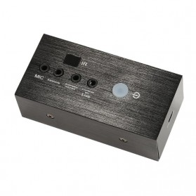 ALLOYSEED Audio USB External Soundcard Live Broadcast with Bluetooth Remote Control - i8 - Black - 5