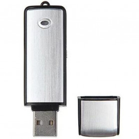 U-Disk Perekam Suara Digital Voice Recorder Flashdisk USB 2.0 8GB - SK858 - Black