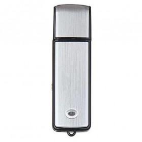 U-Disk Perekam Suara Digital Voice Recorder Flashdisk USB 2.0 8GB - SK858 - Black - 2