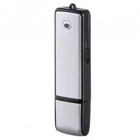 U-Disk Perekam Suara Digital Voice Recorder Flashdisk USB 2.0 8GB - SK858 - Black - 3