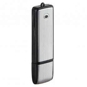 U-Disk Perekam Suara Digital Voice Recorder Flashdisk USB 2.0 8GB - SK858 - Black - 4