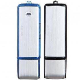 U-Disk Perekam Suara Digital Voice Recorder Flashdisk USB 2.0 8GB - SK858 - Black - 8
