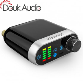 Douk Audio Mini Amplifier HiFi Bluetooth 5.0 Sound Card - TPA3116 - Black