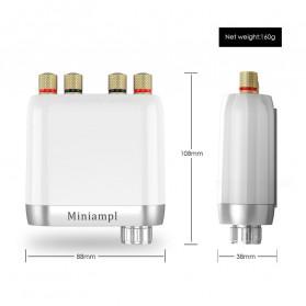 Douk Audio Mini Amplifier HiFi Bluetooth 5.0 Sound Card - TPA3116 - Black - 3
