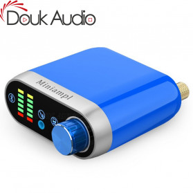 Douk Audio Mini Amplifier HiFi Bluetooth 5.0 Sound Card - TPA3116 - Black - 4