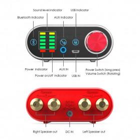 Douk Audio Mini Amplifier HiFi Bluetooth 5.0 Sound Card - TPA3116 - Black - 6