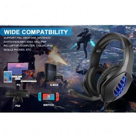 ONIKUMA Gaming Headphone Headset Super Bass LED with Microphone - J1 - Black - 3