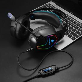 KOTION YOTMS Gaming Headphone Headset Super Bass RGB LED with Mic - Y1 - Black - 5