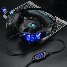 KOTION YOTMS Gaming Headphone Headset Super Bass RGB LED with Mic - Y1 - Black - 6