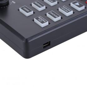 WORLDE Piano Digital 25 Key + DRUM Pad Midi Controller Professional Musical Instrument - PD879 - Black - 5