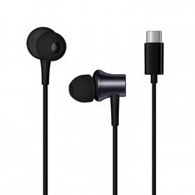 Xiaomi Mi Piston Earphone USB Type C (Replika 1:1) - Black - 2
