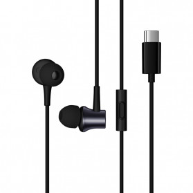 Xiaomi Mi Piston Earphone USB Type C (Replika 1:1) - Black - 5