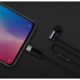 Xiaomi Mi Piston Earphone USB Type C (Replika 1:1) - Black - 6